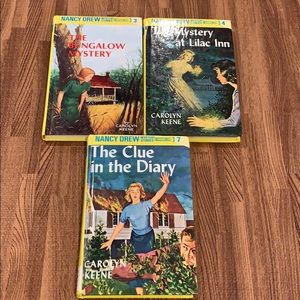 3 Nancy Drew Books